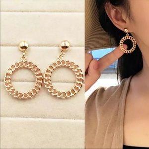 • Ava • Chain Link Earrings